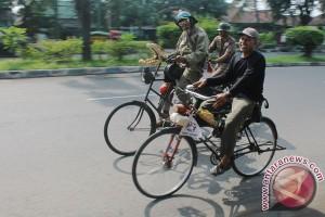 400 peserta ikuti Silatnas komunitas sepeda tua