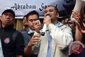 Abraham Samad Tiba Di Makassar