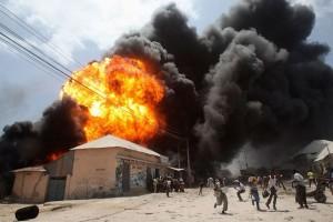 21 orang tewas dalam dua ledakan di Somalia