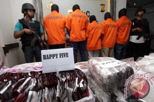 Polda Sultra tangkap sembilan tersangka pengedar obat PCC