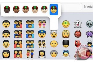 "Apple perkenalkan ""emoticon"" dengan beragam ras"