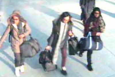 Rekaman CCTV perlihatkan siswi Inggris ke Suriah