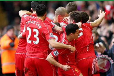 Liverpool hantam City 2-1