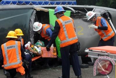 Simulasi Penanganan Korban Kecelakaan
