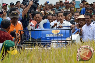 Presiden dorong pertumbuhan pabrik pertanian dalam negeri