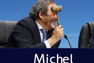 Platini akan umumkan pencalonan sebagai presiden FIFA