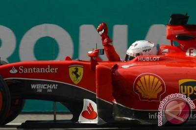 Vettel ungguli dua pebalap Mercedes di F1 Sepang
