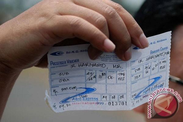 tiket nam air lubuk linggau jakarta terjual 85 persen ramadhan rh antaranews com tiket jakarta ke medan tiket murah dari medan ke jakarta