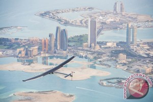 Pesawat bertenaga surya berhasil kelilingi dunia