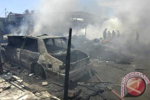 SMP Negeri 16 Padang terbakar