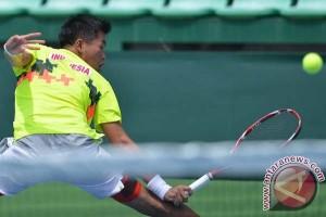 David/Sunu terhenti di putaran pertama Combiphar Tennis Open