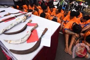 Polisi selidiki keberadaan senjata tajam di LP Rajabasa