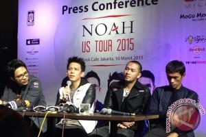 Noah siapkan lagu berbahasa Inggris untuk tur AS