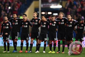 Atletico vs Leverkusen lanjut ke babak waktu tambahan