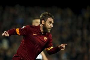 Susunan pemain Roma vs Sassuolo, De Rossi cadangan
