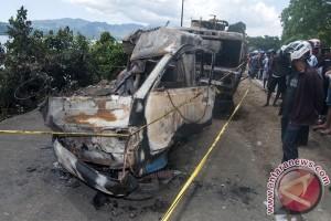 Tujuh tewas dalam tabrakan beruntun di Jalinsum