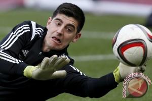 Belgia berharap Courtois kembali ke puncaknya demi Euro 2016