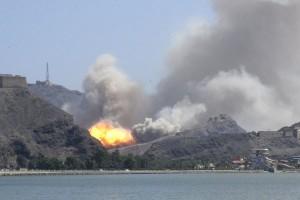 Serangan udara di pabrik Yaman bunuh 23 orang