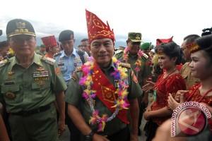 Latihan gabungan TNI di Poso dibuka