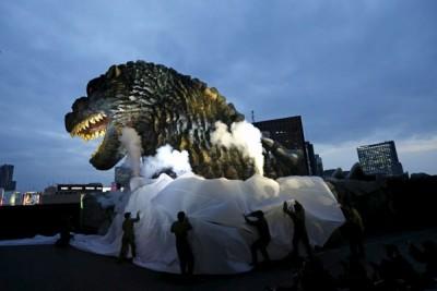 Empat tokoh film Jepang raih Arigato Award, salah satunya Godzilla