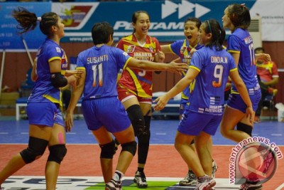 Jakarta Electric sandingkan gelar juara Proliga 2015