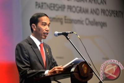 Presiden Jokowi sambut kedatangan kepala negara Asia Afrika