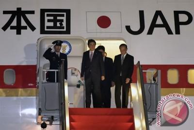 Perdana Menteri Jepang Abe tiba di JCC