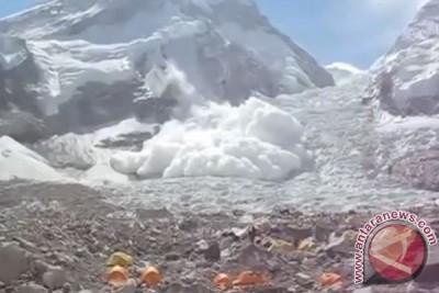 22 pendaki tewas, 217 hilang di Everest akibat gempa