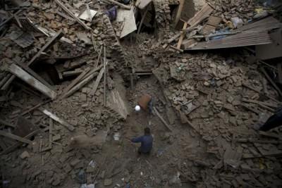 Korban jiwa akibat gempa Nepal capai 7.365