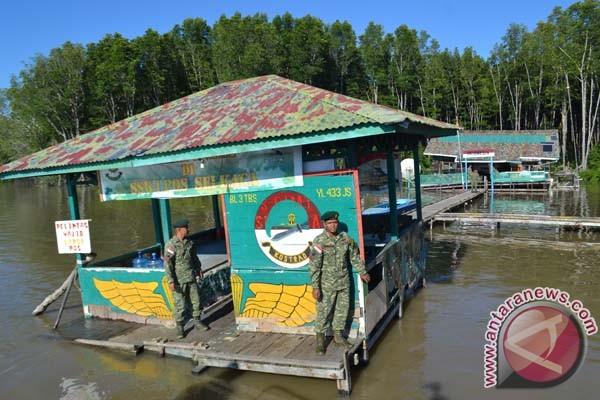 Pos perbatasan Sei Kaca Nunukan nyaris ambruk