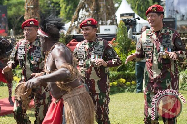 Tokoh masyarakat daerah konflik hadiri silaturahmi Kopassus TNI AD
