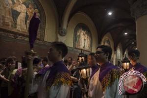 Uskup Agung ajak umat teladani komitmen Yesus