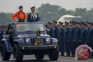 HUT ke-69 TNI AU berlangsung sederhana
