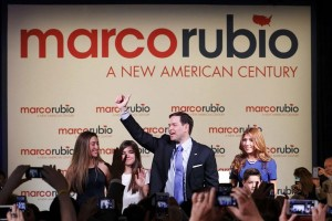 Marco Rubio mendadak jadi bintang debat