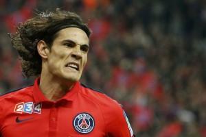 Cavani pencetak gol terbanyak di Liga Prancis