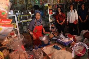 Ibu Negara Kunjungi Pasar Nongko