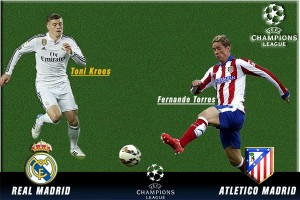 Susunan pemain Atletico vs Real Madrid