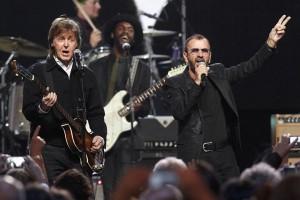 Paul McCartney dan Ringo Starr reuni