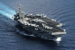 AS kirim kapal induk ke Yaman di bawah tatapan Iran