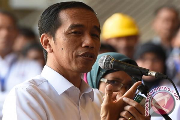 Jokowi kaget sekaligus kagumi Pasar Pharaa Sentani