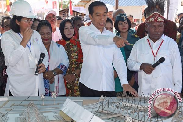 Presiden Jokowi Ingin Pembangunan Papua Dipercepat