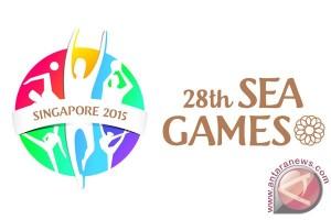 Para pengurus KONI daerah ke Singapura, memantau SEA Games