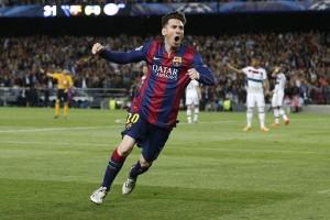 Messi antar Barca ke puncak klasemen usai tekuk Malaga 2-1