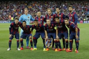 Susunan pemain Barcelona lawan Sevilla di Copa del rey