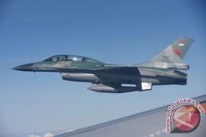 Jet F-16 AS jatuh di Arizona