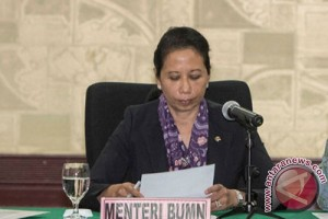 Menteri BUMN lantik tiga pejabat eselon 1