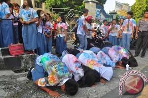Polisi bubarkan konvoi kelulusan siswa SMA/SMK Trenggalek