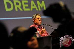SBY saat kuliah umum di UPI: Mbok diam saja, cicing!