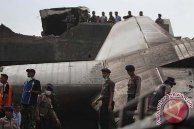 Pesawat Hercules C-130 Jatuh