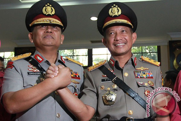 Tito Karnavian installed as new Jakarta Police Chief